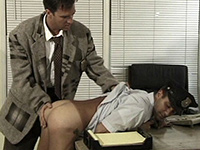 Cop is punished and fucked