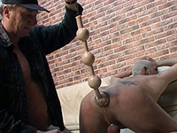 Daddy lover gets some anal fun
