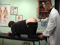 Patient gets his prostate massaged at the gay hospital