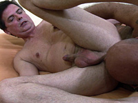 Mature gay daddies suck dick and fuck butt