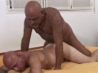 Horny Older Gay Daddies Eduardo And Murray Banging