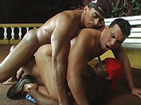 Mad Latino double anal